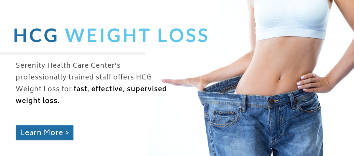 Serenity Health Care Center offers HCG Weight Loss in Waukesha, Wisconsin.